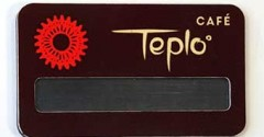 "Бейдж ""Teplo"""