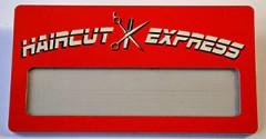 Бейдж «Haircut express»