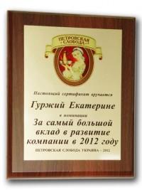 Изготовление сертификатов