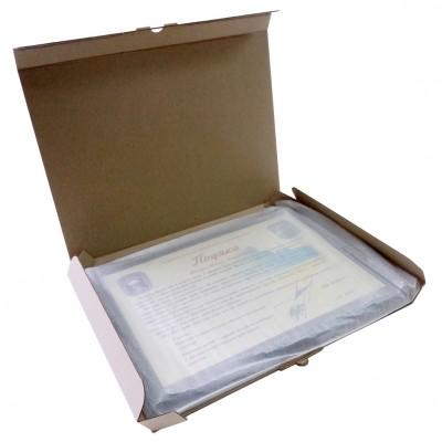 Коробка для диплома — таблички размером 300х220 мм