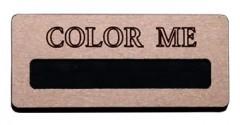 "Бейдж ""Color me"""