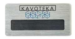 """Бейдж """"Kavoteka"""""""