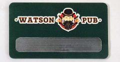 """Бейдж """"Watson pub"""""""