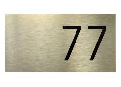 Номерок на дверь – 77
